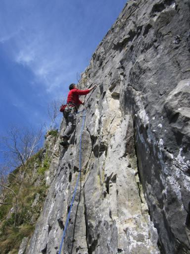 Adidas Terrex Fleece climbing