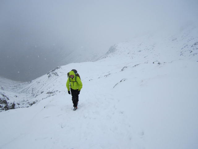 The Haglofs Spire Jacket - breathable for those active walk-ins.