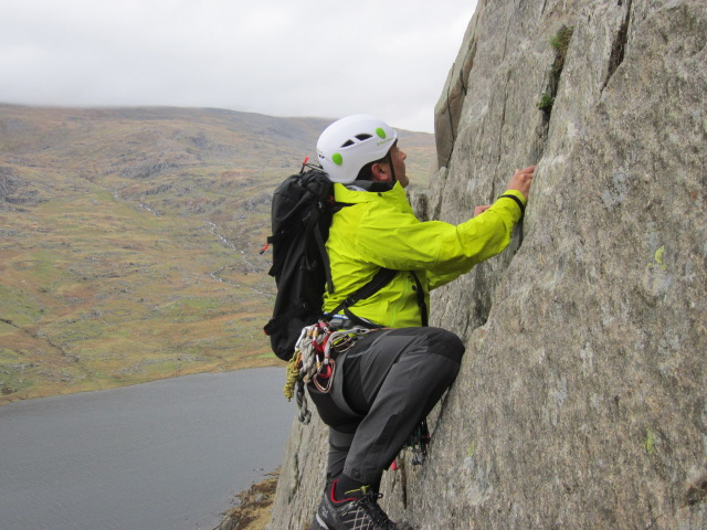 The Roc 35 was a good rock climbing pack.