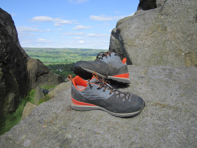 The North Verto Plasma - a well made, technical approach shoe.