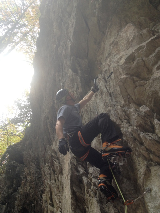 Sport climbing with the Swift