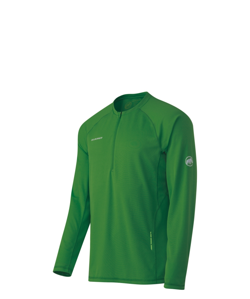 Mammut MTR 201 Men's Long Sleeve Zip Top