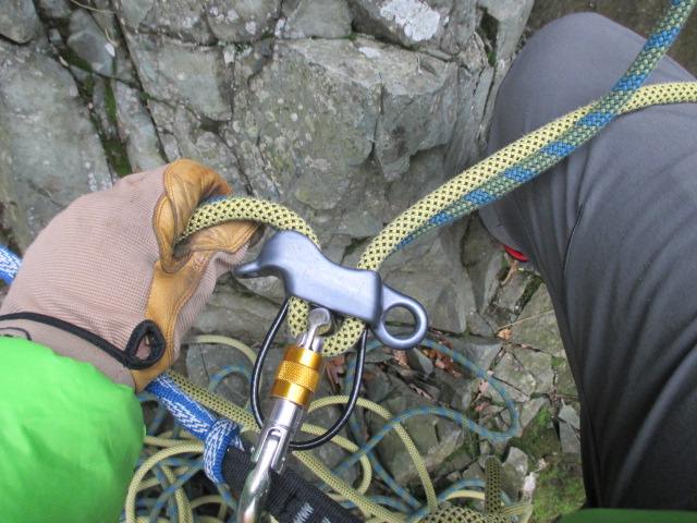 The WC Guide pro paid rope out smoothly.
