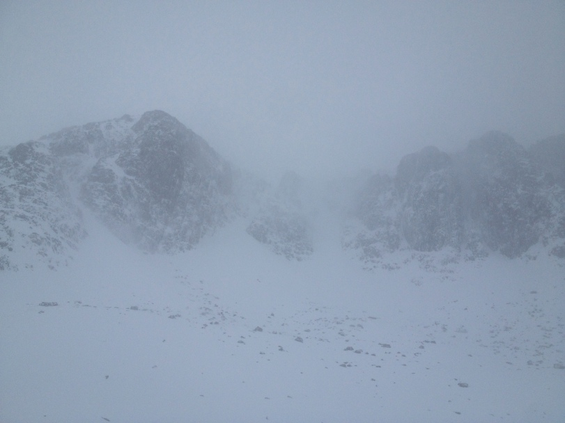 Stob Coire Nan Lochan, Glencoe, 22/12/2013