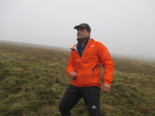 The TNF Radium jacket fitted nicely under a hardshell.