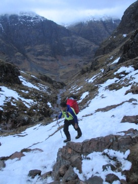 The Polartec fabrics were good for approaches, drying out quickly for the route.