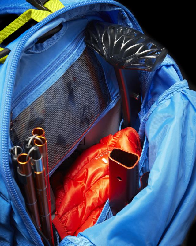Haglöfs VOJD 18 ABS Ski Pack - internal detail.