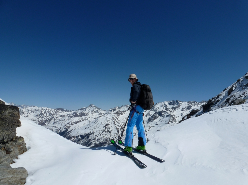 Haglöfs Rando Flex Pant - note the kick patches to resist abrasion from ski edges and crampons.