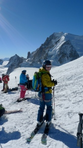Deuter Provoke Pack - comfortable to wear whilst skiing.