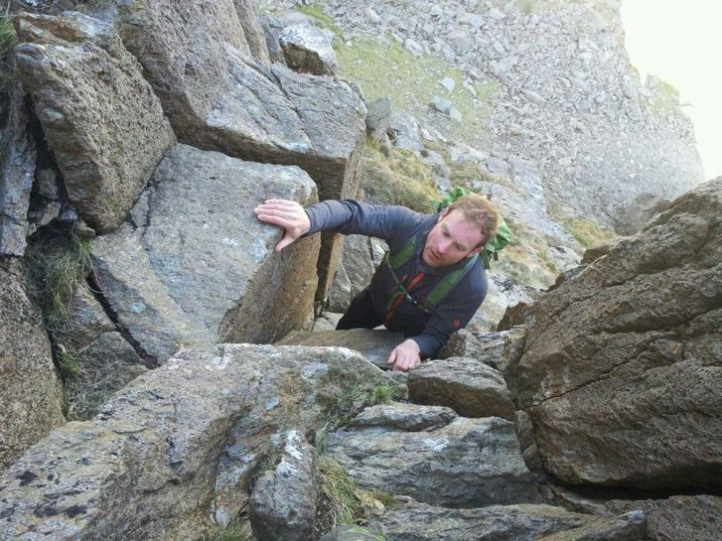 Mountain Hardware Super Chockstone Jacket - great for climbing and scrambling.