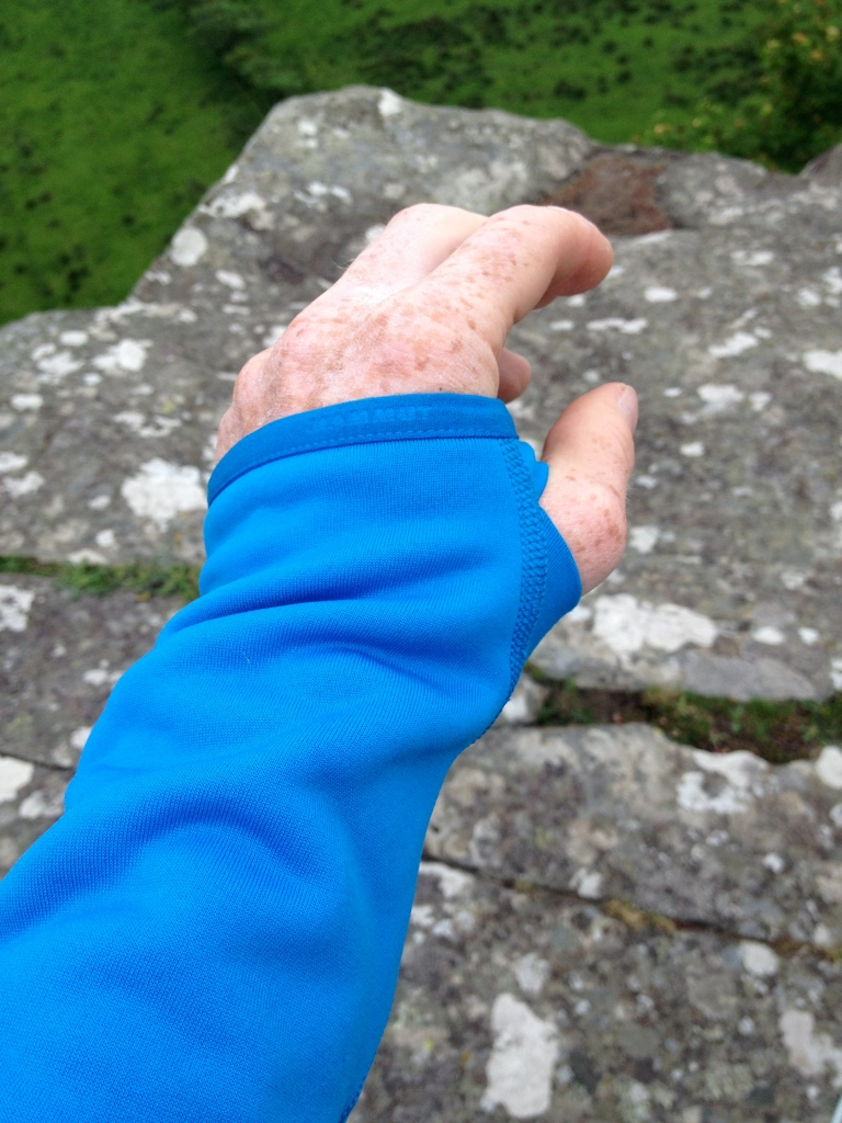 Mammut MTR 141 Thermo Jacket - super comfortable cuff and thumb loops.