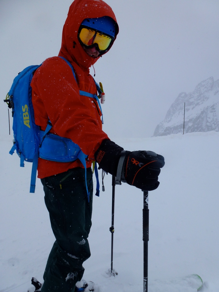 Arc'teryx Alpha Comp Hoody - could handle the odd bit of precipitation when it needed to!