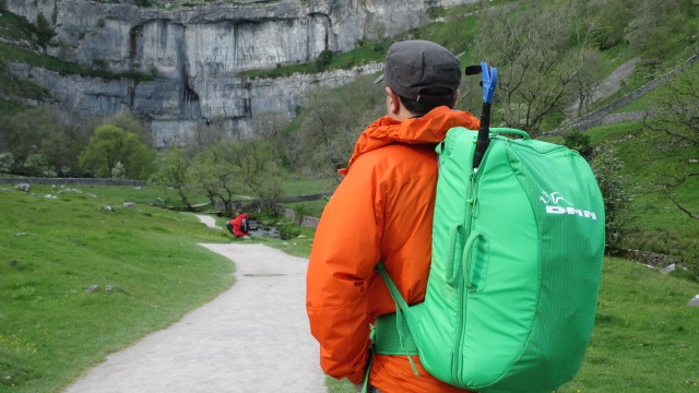 The DMM Flight - plenty big enough for a day of sport climbing.