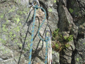 Edelrid Pure Slider - a easy to use and speeds up belay building.