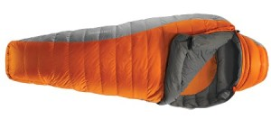 The Therm-a-rest Anatres Sleeping bag was warm and cosy.