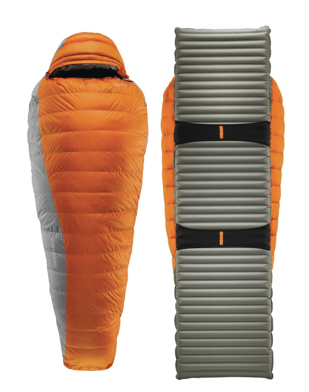 pretty nice 33fa1 d839b Therm-a-Rest Antares Sleeping Bag and Therm-a-Rest NeoAir ...