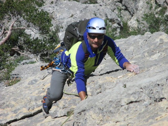 The Marduk was comfortable on big multi pitch routes.