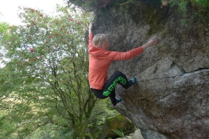 The North Face Wicked Crag hoodie was great to climb in.