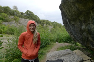 The North Face Wicked Crag hoodie was nice and warm on those cooler days.