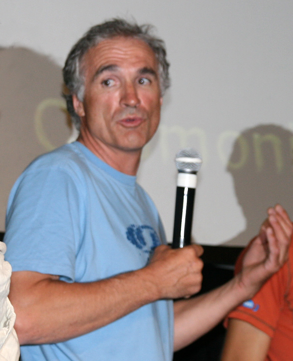 Uber-alpinist Christophe Profit makes an appearance at this year's festival.