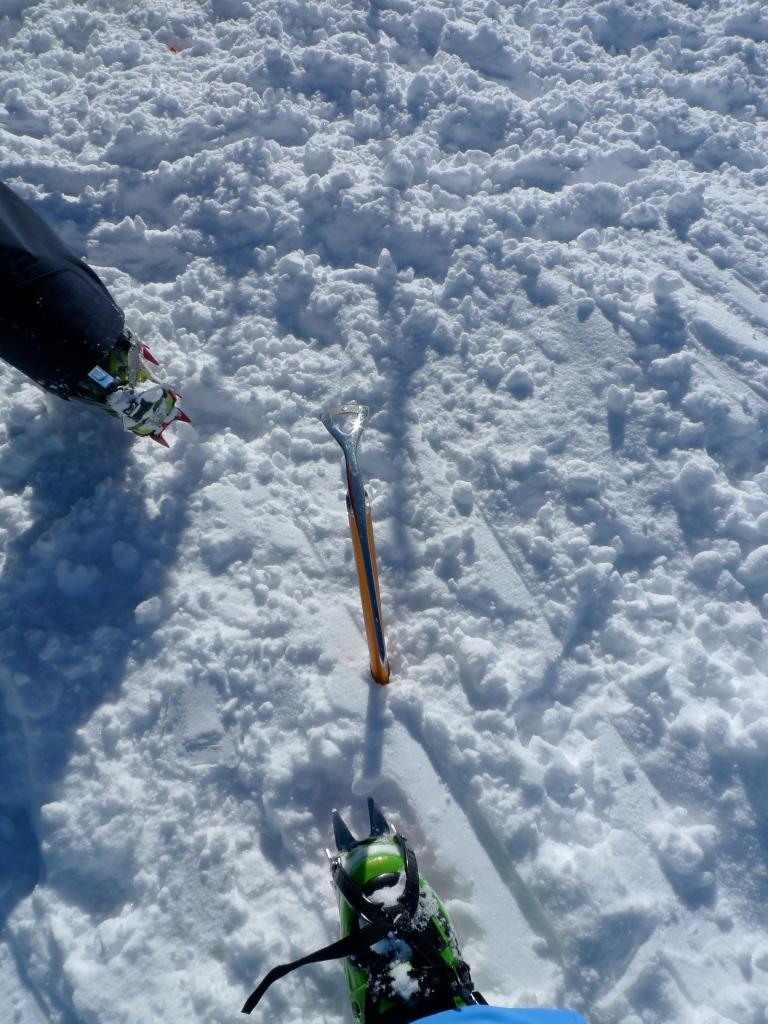 Black Diamond Sabretooth Crampons  - Clip version on ski boots.
