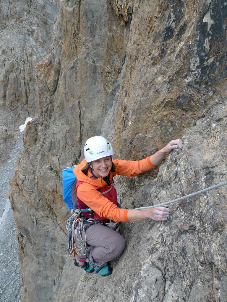 Haglöfs Skarn Q Hood - a great cut for climbing and durable too.
