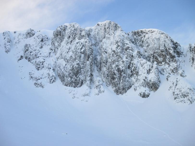 Summit Buttress Stob Coire Nan Lochan