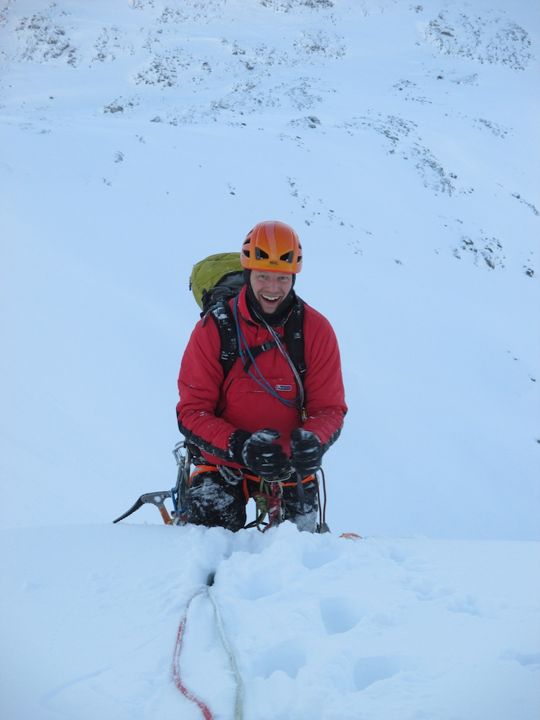 Happy Rob at the top of CB Ordinary