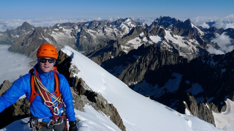 The HAGLÖFS  L.I.M. BARRIER PRO HOOD - versatile lightweight insulation for alpine climbing and mountaineering.