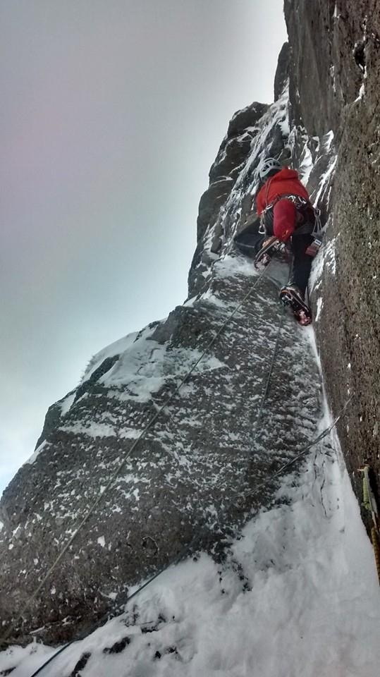 Pitch 3 Bowfell Buttress ©Toby Archer