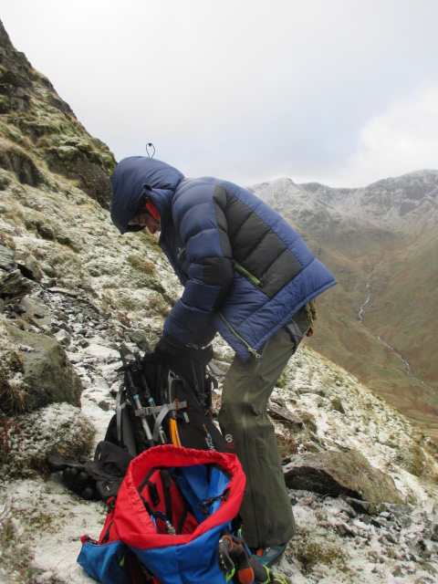 The Jottnar Fjorm was the perfect throw on jacket.