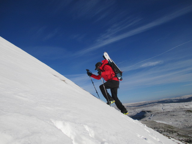 The Sherpa Lapka Rita is ideal for fast moving mountain sports. It was super breatable.