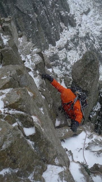 The North Face Vengeance Gloves were dexterous enough for rock climbing in.