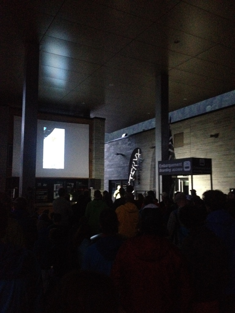 Alpine climbing through the ages at the opening ceremony of the Arc'teryx Academy 2015.