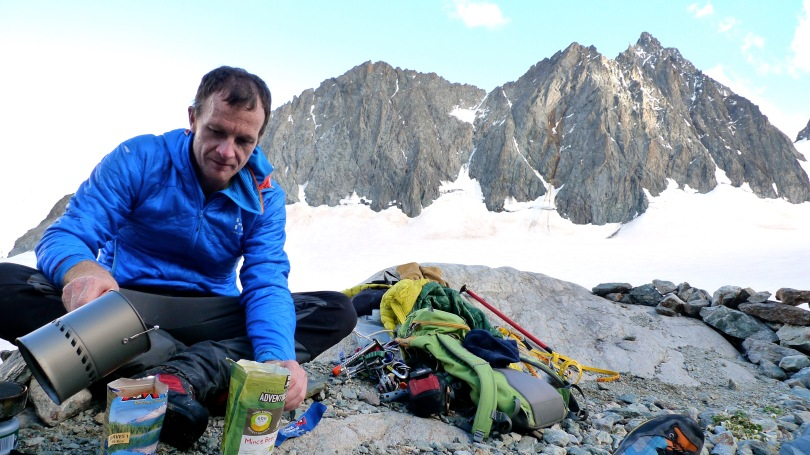 MSR Reactor Stove - great for alpine bevies.
