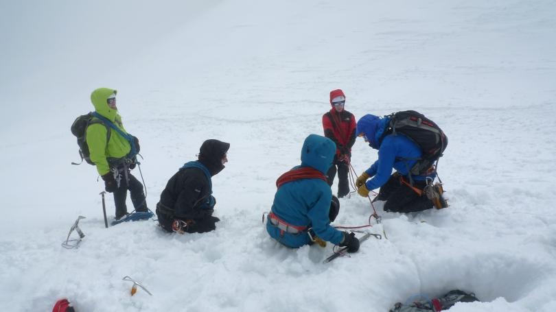 Basic Mountaineering Education clinic
