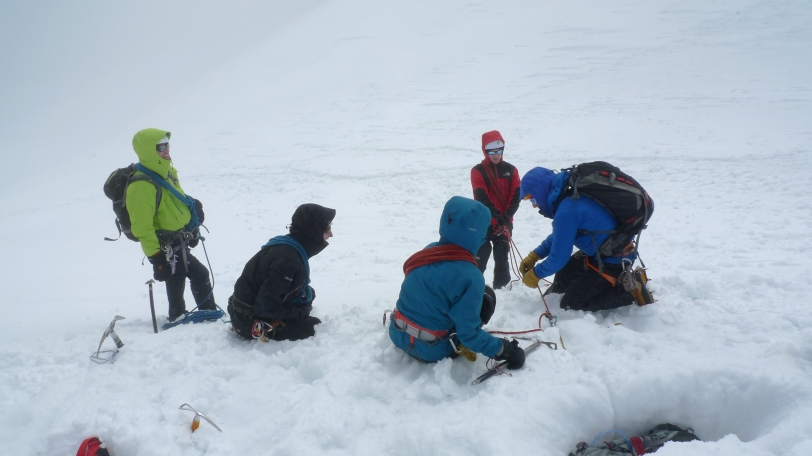 Basic Mountaineering Education clinic