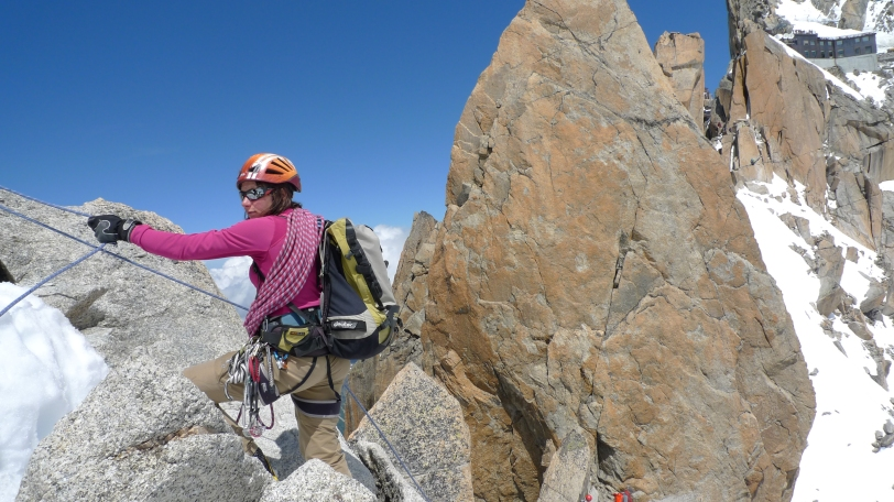 Arc'teryx Academy 2015 - Advanced Technical Alpinism on the Aretes Des Cosmiques.