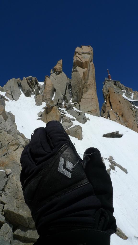 Black Diamond Terminator Gloves - great for summer alpine climbing.