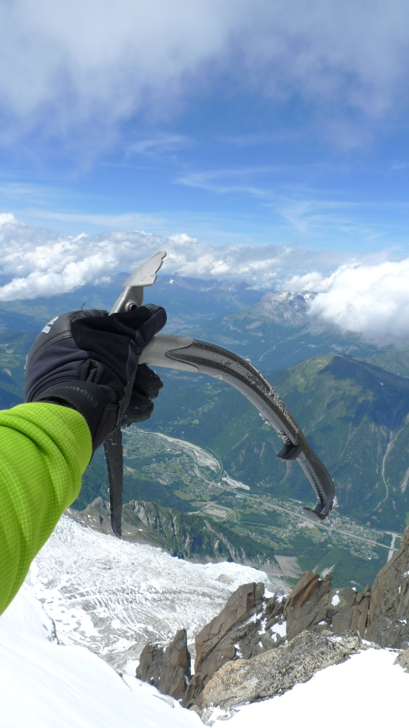 Black Diamond Terminator Gloves - excellent feel and dexterity when handling ice tools.