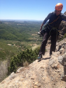 The Scarpa Oxygen had a great fit and gives real confidence on tricky descents.