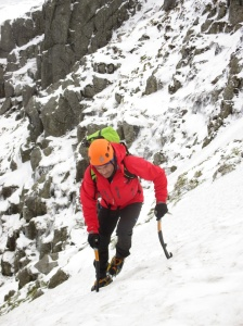 The excellent, tapered leg meant they were great for crampon work.