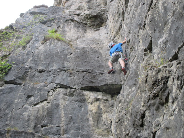 Haglöfs Rocker GT - I have used these on rock climbs up to VS 4c.