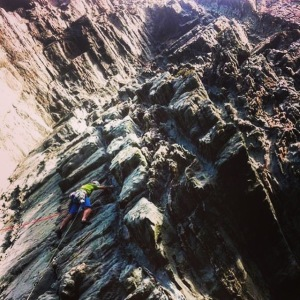 Häglofs Lizard Shorts - sunny Hogarth sea cliff adventures.