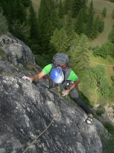 Great on multi pitch rock
