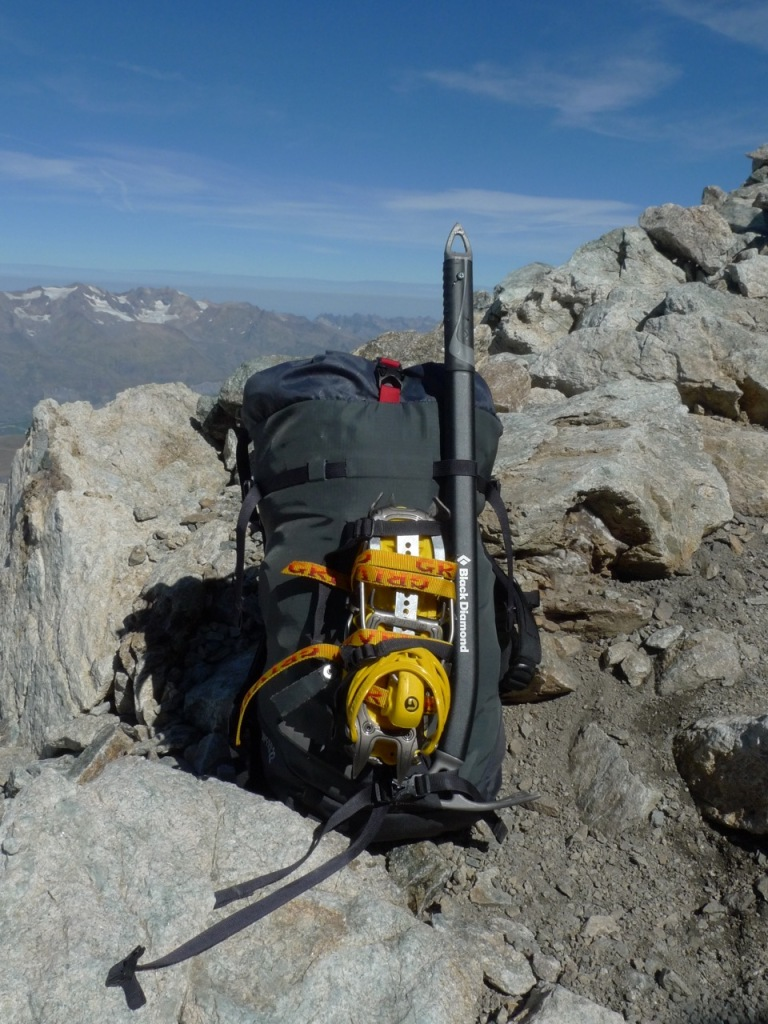 Light, compact and comfortable a perfect alpine sac