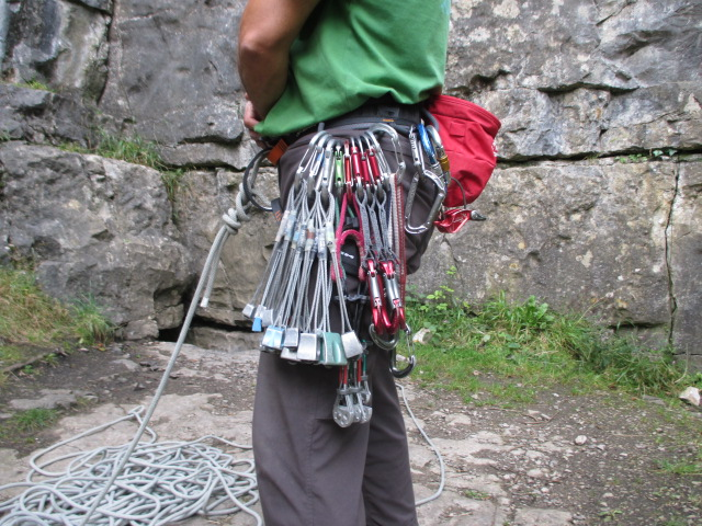 The DMM Mithril had great gear loops that ate kit up easily.