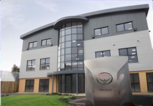 Swanky new Osprey HQ in Dorset.