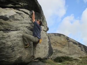 The Lynx performs just as well bouldering as it does with routes.