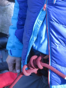 The easy to use zip meant that accessing my harness was a breeze.